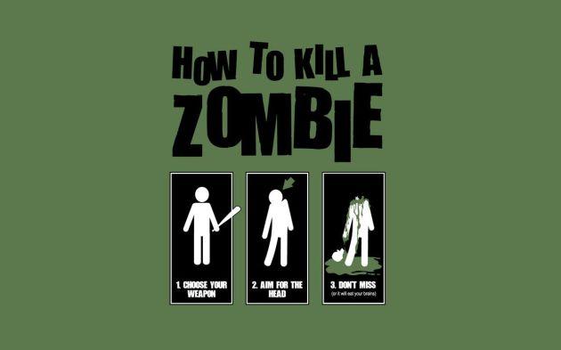 "Zombie ""Wallpaper"""